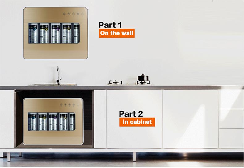 Home filtering system installation