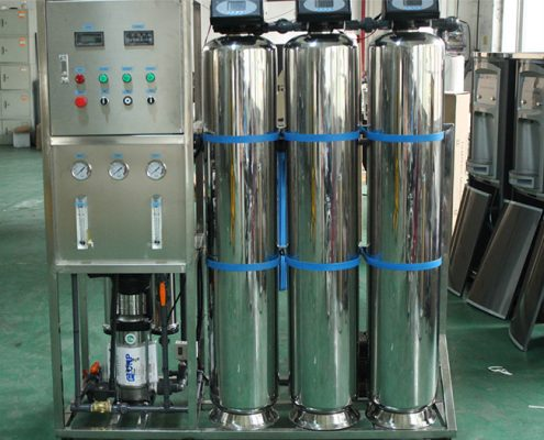 Deionized water system 500L